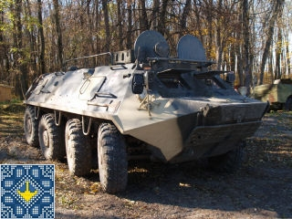 Armoured personnel carrier (APC) - BTR-60