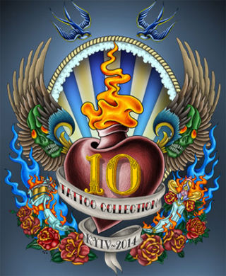 Festival Tattoo Collection 2014 | On 16.05-18.05.2014 in Kiev