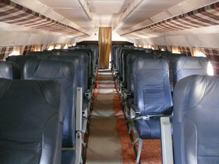 Kiev-Kherson flights with Motorsich Airlines | An-24 Interior