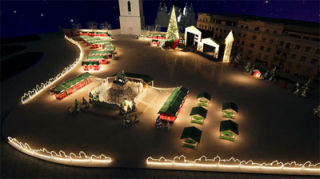 New Year and Christmas 2015 in Kiev | 19.11.2014 - 19.01.2015 | Sophia Square