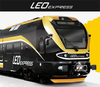 Leo Express offers low cost trip Prague-Mukacheve by train and bus