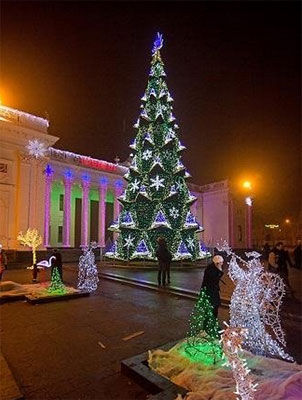 New Year and Christmas 2015 in Odessa | Program of Celebration