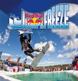 Red Bull Jump and Freeze 2015 | On 28.02.2015 in Bukovel, Carpathians