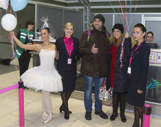 Airport Kyiv (IEV) received its millionth passenger on 29.11.2016