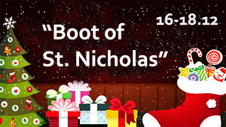 Kiev Holiday Fair Boot of St. Nicholas | On 16th-18th of December 2016