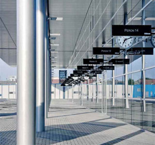 Boryspil airport opens new bus station near Terminal D