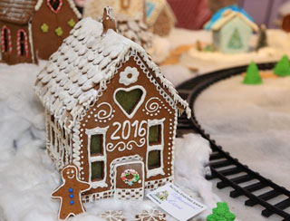 Exhibition of Gingerbread Houses in Odessa | On 4th-10th of January 2016