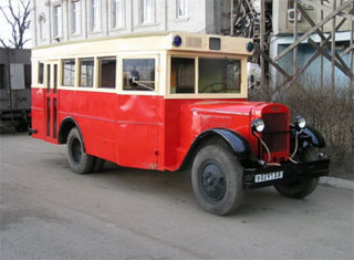 On Motorist Day club Samohod will present classic bus ZIS-8
