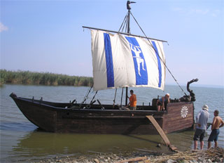 Odessa reenactors built historical ship of Mycenaean civilization