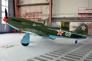 Restored Yak-3 came back to State Aviation Museum