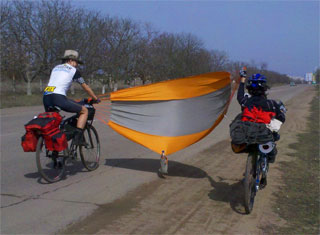Round the World Trip by Bicycles | Ukrainian Family Dovgan