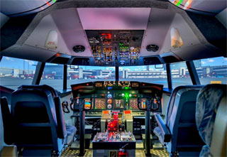 Boeing 737 NG Flight Simulator opened in Odessa | Fly Safe