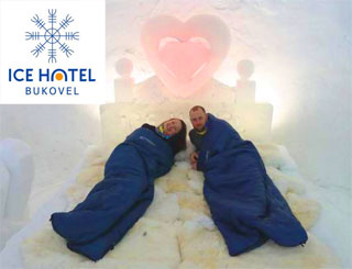 Bukovel Ice Hotel | Unique hotel built from snow and ice