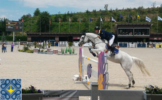 World Show Jumping Competitions CSI3* in Kiev Equides Club | Horse Jumping
