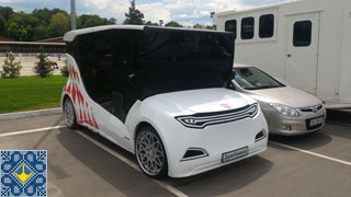 World Show Jumping Competitions CSI3* in Kiev Equides Club | Synchronous Electric Vehicle