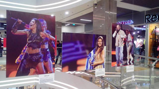 Eurovision 2017 Photo Exhibition in Kiev Mall Gulliver