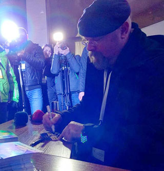 Jamie Hyneman of MythBusters in Dnipro