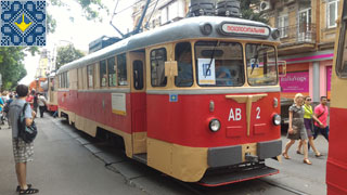 Kiev Parade of Trams to 125th Anniversary of Kiev Tram | Kiev Trams Pictures
