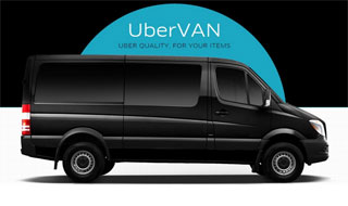 UberVan Taxi for more than 6 passengers is available in Kiev