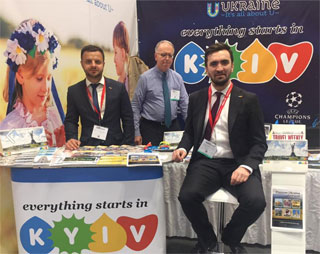 Kyiv, Ukraine is represented at NYT Travel Show in NYC