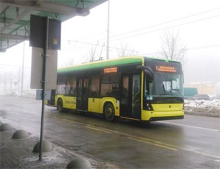 Lviv Airport opened trolleybus line from New Terminal to Lviv center