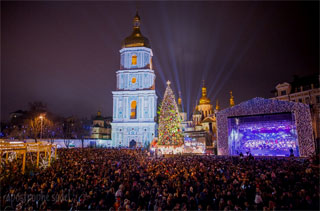 Christmas and New Year 2017 in Kiev | Celebration Program