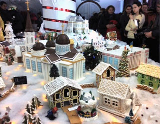 Exhibition of Gingerbread Houses in Odessa | 04-10.01.2017