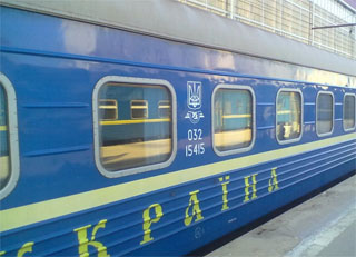 Train Kiev - Cherkasy start to operate on 10.12.2017