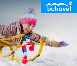 Downhill Sleigh Slope was opened in Bukovel Ski Resort