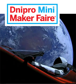Dnipro Mini Maker Faire | On 21th of April 2018 in Dnipro