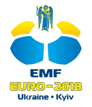 European Minifootball Championship on 12.08 - 18.08.2018 in Kiev