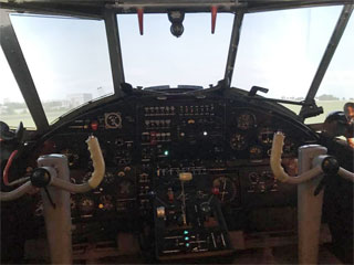 Flight Simulator An-2 with Cockpit opened in Kryvyi Rih