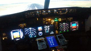 Flight Simulator Boeing 737 opened in Kiev for Flight Training