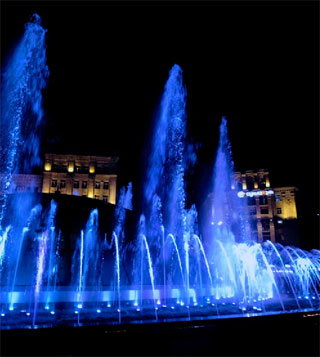 Kiev Fountains Schedule | 27.04 - 30.09.2019 | Evening Show in Kyiv
