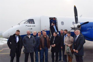 Mykolaiv Airport open with First Charter Flight to Kiev