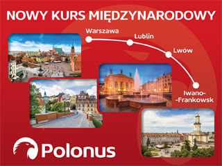 Warsaw - Ivano-Frankivsk Bus Line opened on 29.06.2018 | Polonus