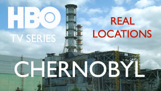 HBO Chernobyl Series Tour of real locations created in Chernobyl Zone