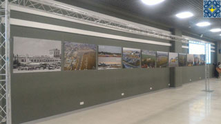Terminal A Extension in Igor Sikorsky Kyiv International Airport (IEV) | Photo exhibition