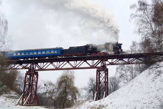 Lviv Christmas Steam Train Tour | On 29.12, 30.12, 31.12.2019, 01.01.2020