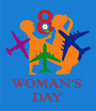 Woman's Day 8th of March Congratulation for Lovely Women