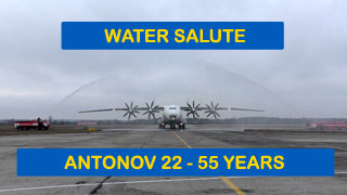 AN-22 Antei celebrates 55 Years Anniversary on 27.02.2020 in UKKM