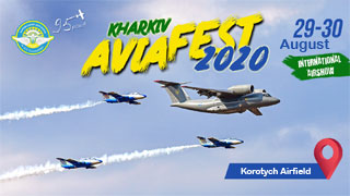 Kharkiv AviaFest | On 29.08 - 30.08.2020 at Korotych Airfield | Airshow