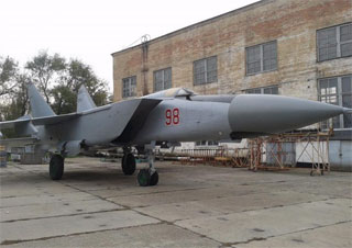 MiG-25 PDS Foxbat is new exhibit of Poltava Long-Range Aviation Museum