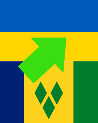 Saint Vincent and Grenadines Citizens visit Ukraine Visa Free