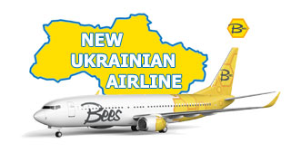 Bees Airline - Ukraine new airline start flights in March 2021