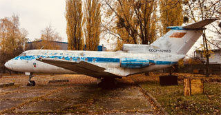 Yak-40 USSR-87683 is a new exhibit of State Aviation Museum in Kyiv