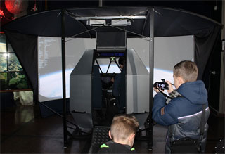 Space Flight Simulator Aeneas open on 12.01.2020 in Zhytomyr Museum