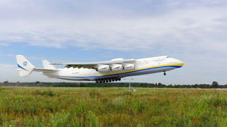 AN-225 Mriya completed her first test flight on 25.03.2020 in UKKM