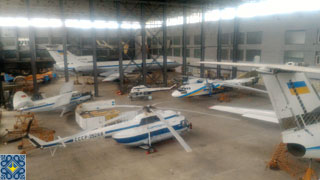 National Aviation University Aviation Training Hangar Extended Tour