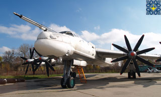 Poltava Sights | Museum of Long-Range and Strategic Aviation | Tupolev Tu-95 (The Bear)